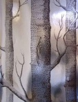 Cole & Son Woods Chocolate/Silver Wallpaper 69_12150_CS