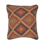 Jaipur Pillow Bedouin Kalahari - Blue and Red BD16