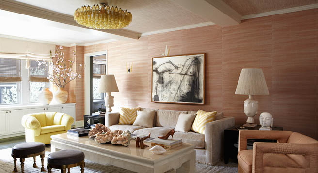 Cameron Diaz Home Decor Living Room
