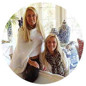 Hamptons Designer Show House 2014 Denise Rinfret and Missy Rinfret