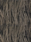 Groundworks Fabric - Currents Linen - Ebony/Gold - GWF-3113_48_0