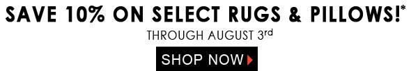 July Jaipur Rug Pillow Sale Newsletter Banner 2