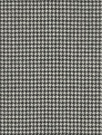 Ralph Lauren Wool Fabric - Bradford Check - Black Cream - Houndstooth - LFY62130F