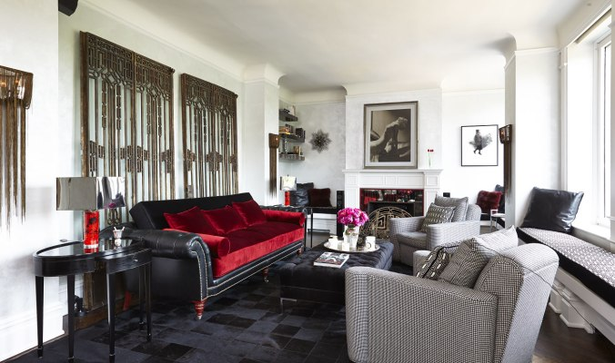 Melanie Griffith Home Decor Living Room