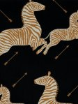 Scalamandre Wallpaper Zebras - Black WP81388M-005