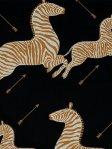 Scalamandre Wallpaper Zebras - Black WP81388M-005