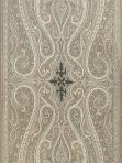 Schumacher Fabric - Pasha Paisley - Stone - 174803