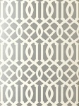 schumacher wallpaper imperial trellis silver 5003362