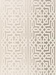 Schumacher Wallpaper - Malaga - Silver 5005932
