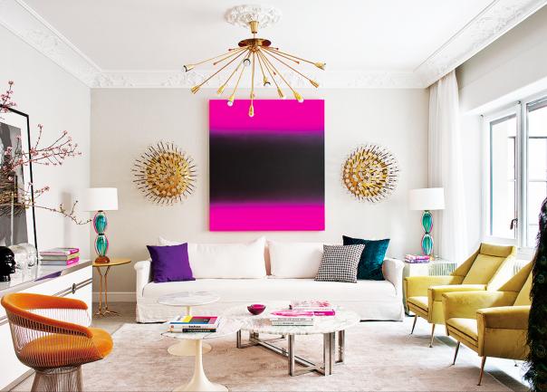 glamorous interior decor