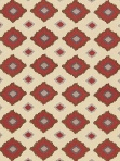 Schumacher Fabric - Sikar Embroidery - Pomegranate - 65783