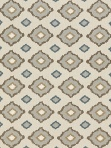 Schumacher Fabric - Sikar Embroidery - Flax - 65784