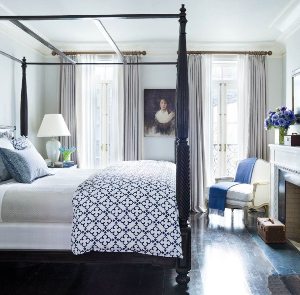 Brooke Shields - Bedroom - Traditional Celebrity Homes