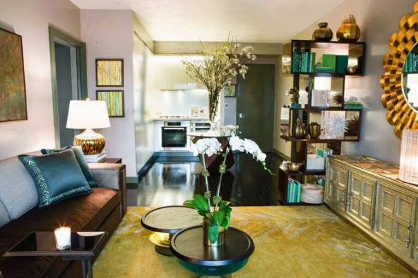 Daniel Park Design - Lenox Hill Designer Showhouse Living Room Interior Decor