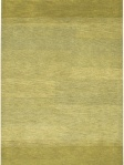 Chandra Rug Citrine Green Contemporary Area Rug MET-504_Flat