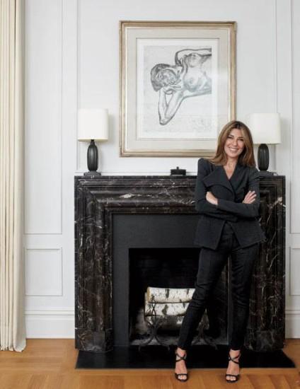 Nina Garcia - Living Room - Traditional Celebrity Homes