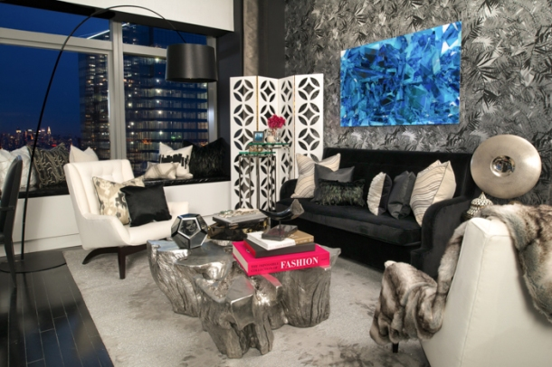 Jack Ovadia - Ovadia Design Group - photo cred Morris Antebi - Living Room