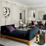 The Golden Touch : A Gilded, Glamorous Paris Apartment