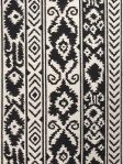 Jaipur Rectangle Rug - Farid - Ivory/Black - UB30