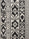 Jaipur Rectangle Rug - Farid - Ivory/Black - UB30