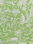 Scalamandre Fabric and Wallpaper - Pechen Des Perles - Kiwi WP88288-001