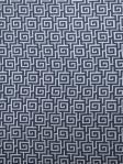 Blue Greek Key Fabric Fabricut Longville - Navy0379205