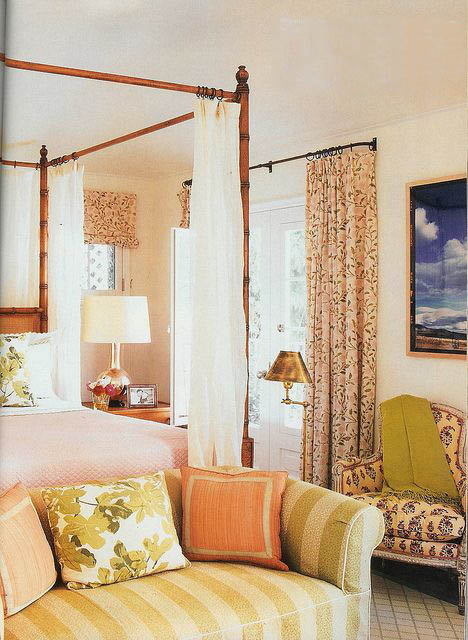 Summer Transition to Fall Bedroom By Peter Dunham Interior Decor