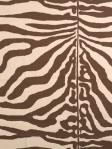 Scalamandre Fabric Zebra Print Brown 16366-002