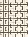 Black & White Geometric Fabric Schumacher Bleeker Bear174044