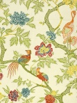Schumacher Fabric Arbre Chinois - Meadow 174080