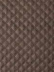 Thayer Quilted Linen - Espresso Schumacher Fabric 62154