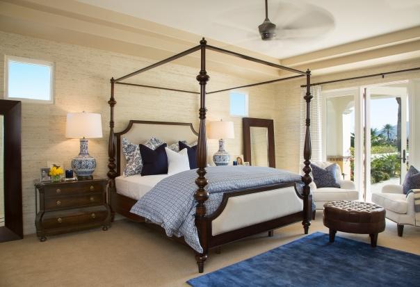 Master Bedroom by Barclay Butera Interior Design Decor