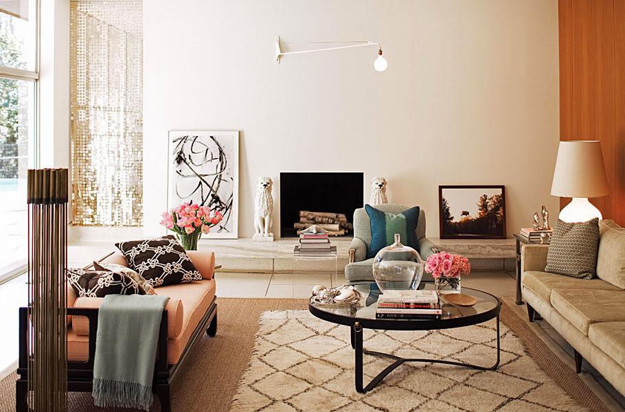 Layered Rug Interior Decor Kilim Living Room