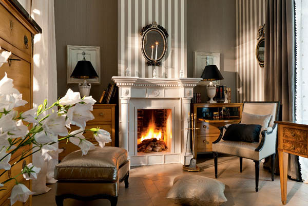 bedroom-decorating-ideas-fireplace for fall