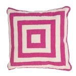 Jaipur pillow geometric pink