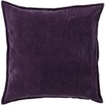 Purple Velvet Surya Throw Pillow cv006