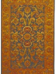 Traditional Rug Orange Charcoal Rust Safavieh GJ272A-5