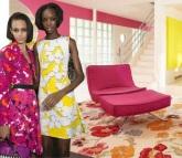 Huge Florals New York Fashion Week Trend Interior Decor for wordpress