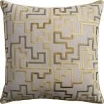 Ryan Studio Olive Pillow Geometric Kipri Citron Kipri-261-T