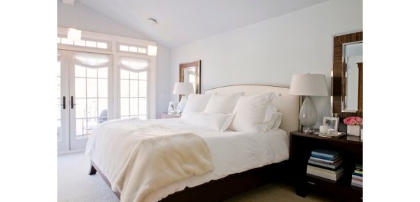 Bedroom Decor Calming White Kriste Michelini Interior Designer
