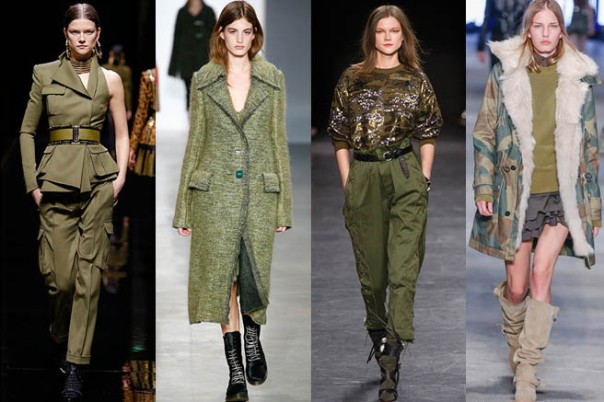Military Trend Fall 2014 Runway
