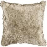 Faux Fur Throw Pillow Suryasco301