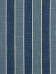 Robert Allen Blue Stripe Fabric Spears - Hydrangea