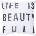 Surya pillow typography