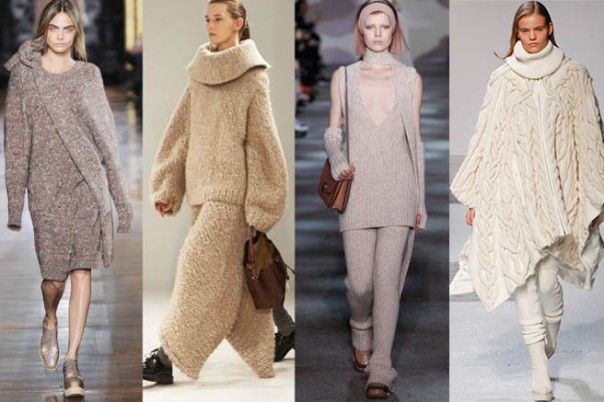 Wool Knits Fall 2014 Fashion Trend Decorate with in Home