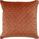 Ryan Studio Quilted Orange Pillow Giorgio silk Diamond 133-9961--2T
