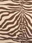 Scalamandre Fabric Zebra Brown 16366-002