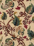 Schumacher Matching Wallpaper and Fabric FloralFox Hollow - Document Natural 2639642