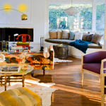 4 celebrities who flawlessly use color in their home