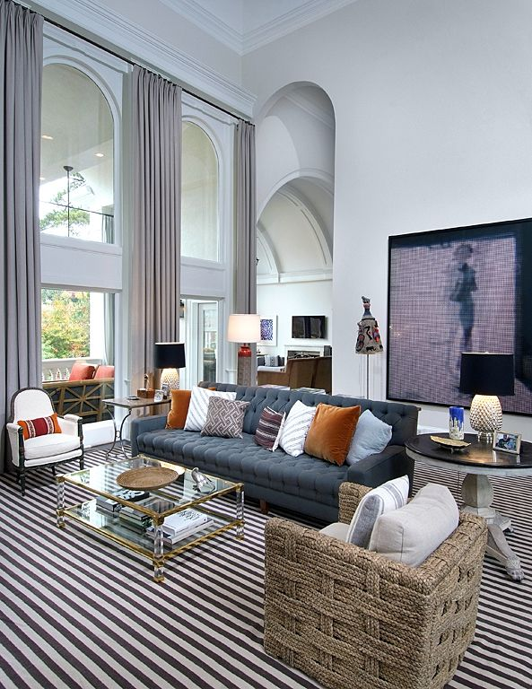 Nate Berkus chicago apartment interior decor how to decorate with grey